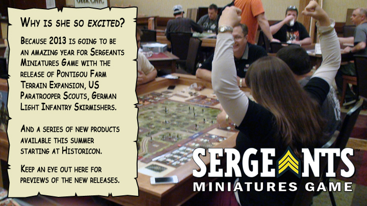 Sergeants Miniatures Game Fun