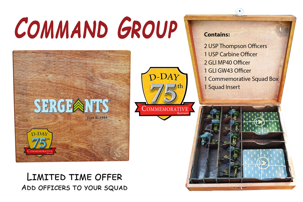 SMG Command Group Officers now available