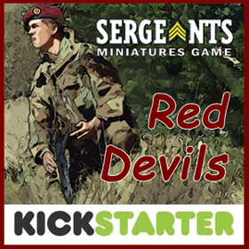Sergeants Miniatures Game: Red Devils