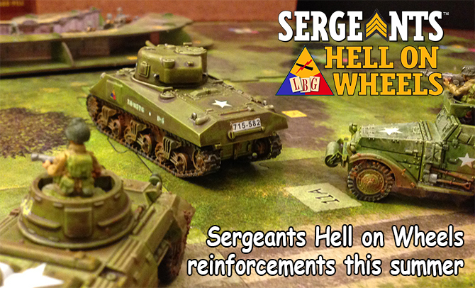 Sergeants Hell on Wheels - War Bonds