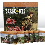 Sergeants Miniatures Game recreates skirmish combat in world war 2