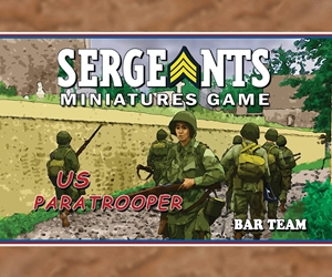 The US Paratrooper BAR Team is effective as a firebase, or maneuverable enough to give you a tactical edge. The portable and powerful Browning Automatic Rifle is devastating at any distance.
